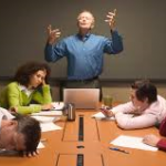 A brilliant excuse. Is daydreaming in dull meetings part of evolutionary make-up?