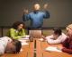 dull work meeting