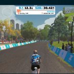 Zwift for middle aged men in garages. Could it get more exciting?